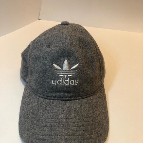 77a89cf89b2f1 adidas Accessories - Adidas Adjustable cotton hat with 3 piece logo